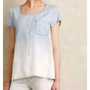 Holding Horses chambray top